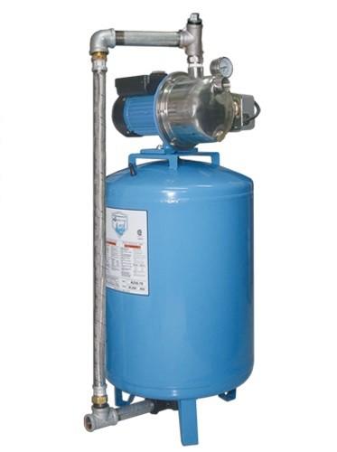 Presurizadores individuales verticales aqua pak filtros for Tanque hidroneumatico para agua